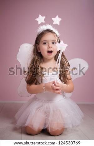 Singing Fairy - stock photo