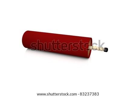 Single bomb - stock photo