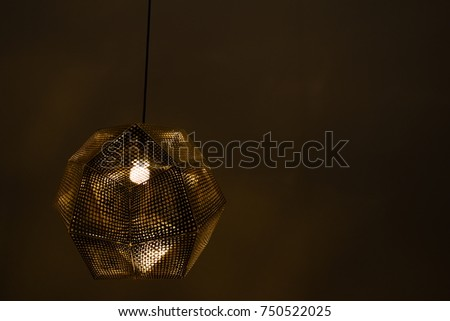 Single chandelier stock images royalty free images vectors single chandelier on left mozeypictures Image collections
