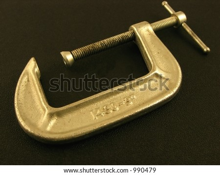 single clamp - stock photo