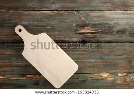 single desk  - stock photo