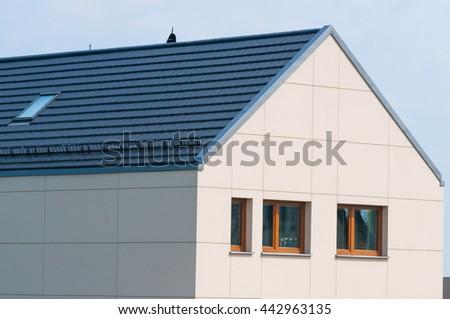 single-family house - stock photo