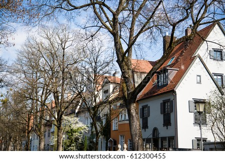 single houses in Munich, single houses in germany