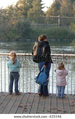 Single Mother - stock photo
