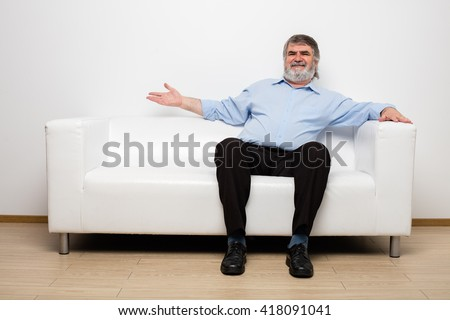 Old Man Sitting Stock Images Royalty Free Images