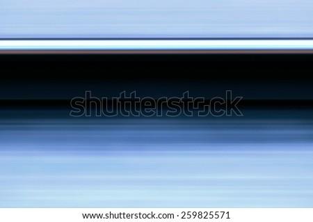 Single rail in motion speed concept railway transportation - stock photo