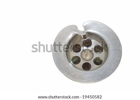 Sinkhole - stock photo