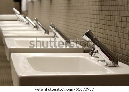 Sinks - stock photo