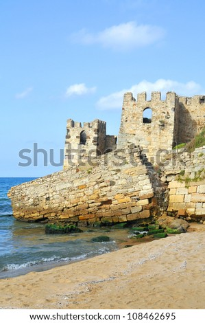 Sinop Castle. At the tip of the Black Sea in Turkey.