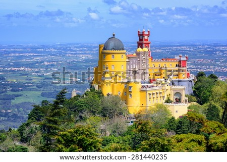 Sintra, Portugal - stock photo