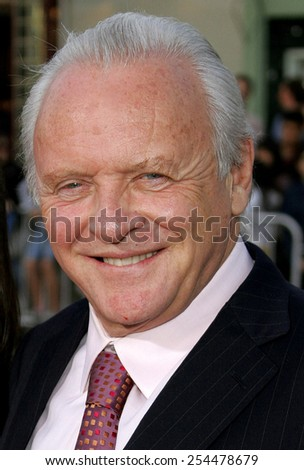"Sir Anthony Hopkins attends the Los Angeles Premiere of ""Fracture"" held at the Mann Village Theater in Westwood, California on April 11, 2007."
