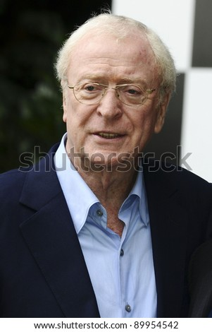 """Sir Michael Caine arriving for the """"Cars 2"""" pre premiere party at Whitehall Gardens, London. 17/07/2011 Picture by: Steve Vas / Featureflash - stock photo"""