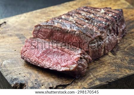 Sirloin Steak - stock photo