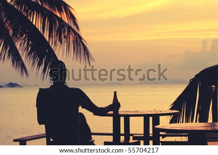 Sit back and relax - stock photo