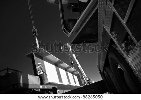 site leverage - stock photo