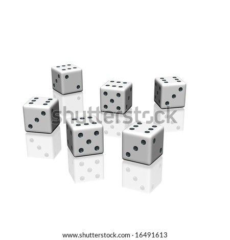 six dices