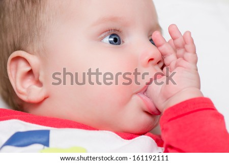 Thumb Sucking Stock Images Royalty Free Images Amp Vectors