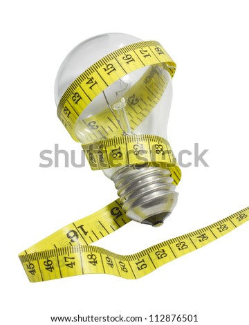 Size of your idea - stock photo