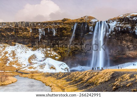 Skógarfoss Waterfall in South Iceland