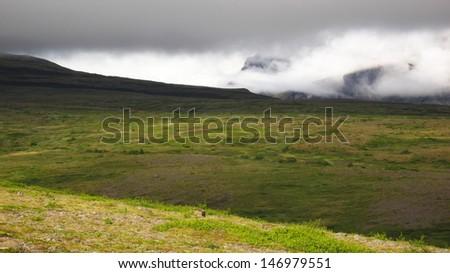 Skaftafell National Park, Iceland - stock photo