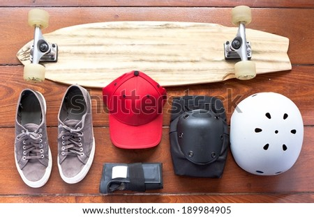 Skate Stuff - stock photo