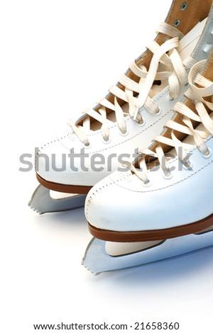 Skates closeup - stock photo