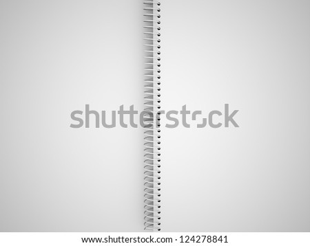 Sketch book with blank page
