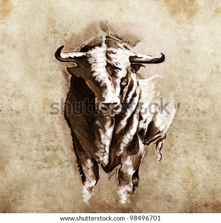 Bull-horn Stock Photos, Images, & Pictures | Shutterstock
