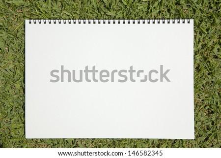 sketchbook - stock photo