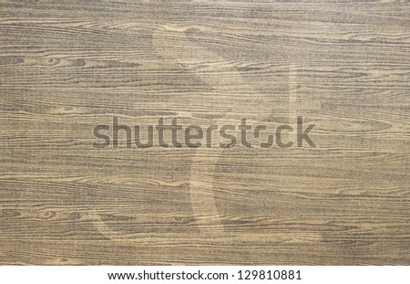 Ski icon on wood texture and background - stock photo