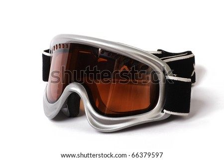 ski snowboard goggles - stock photo