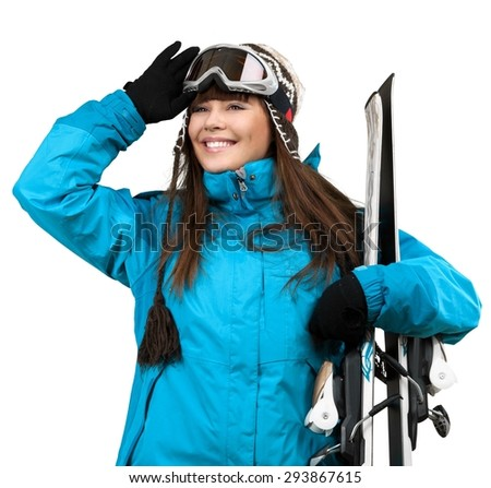 Skiing, Ski, Women.