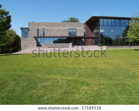 Skillman Library on the campus of Lafayette College in Easton, Pennsylvania - stock photo