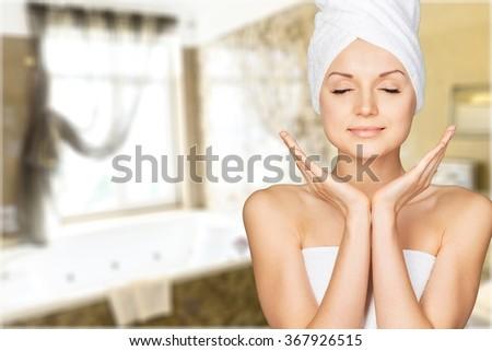 Skin. - stock photo