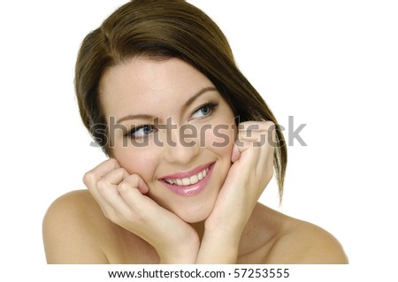Skin and beauty care - stock photo