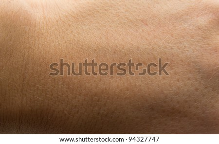 skin as the background - stock photo