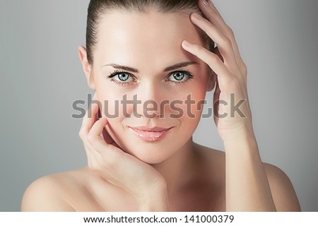 Skin care - stock photo