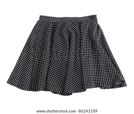 skirt  isolated background