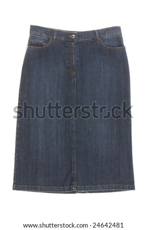 skirt  isolated on white