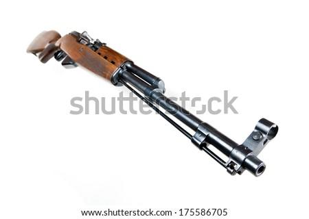SKS. Riffled shotgun of SSSR army - stock photo