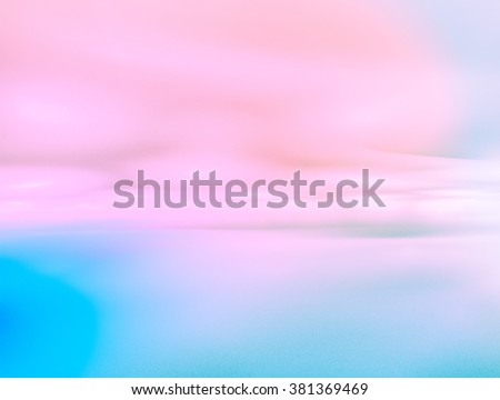 sky abstract background, beautiful cloudscape, on the heaven, view over Rose Quartz, Serenity fluffy clouds - stock photo