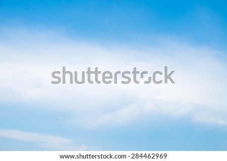 Sky and clouds with sunlight , for background