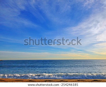 Sky and heaven background - stock photo