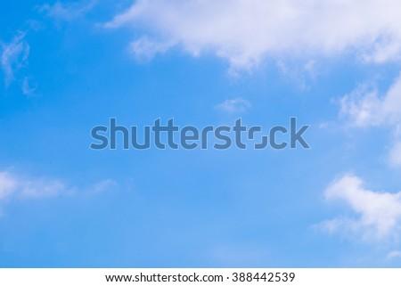 Sky Background - stock photo