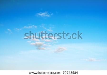 sky background, beautiful cloudscape - stock photo