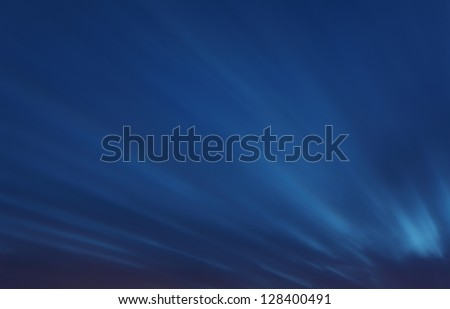 Sky background - long exposure at twiligth with clouds - stock photo