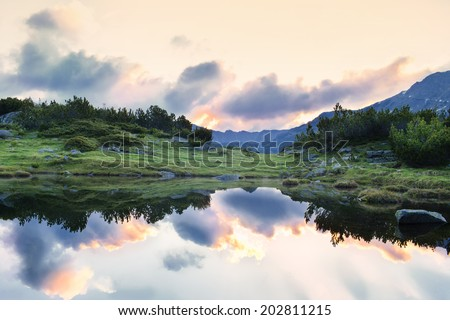 sky beauty - stock photo