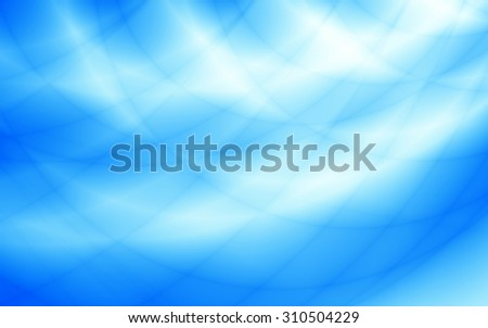 Sky blue bright wave wallpaper background - stock photo