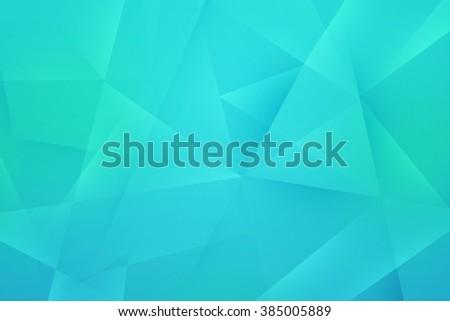 Sky Blue Polygonal Texture - stock photo