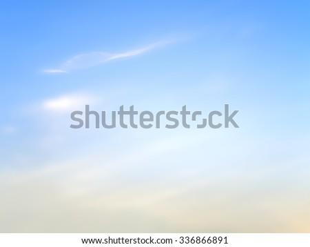 sky blurred image background - stock photo